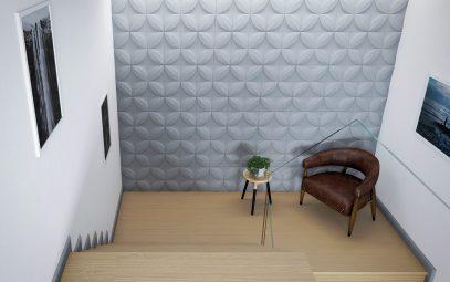 décoration mur wallpanels
