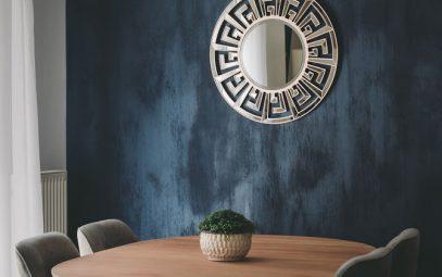 peinture mur salon